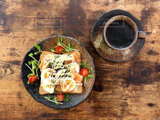 低糖質朝食の写真・画像素材[2957948]