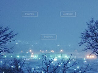 冬の夜景の写真・画像素材[4030179]