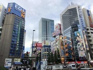日本を代表する電気街・秋葉原の街並みの写真・画像素材[2503412]