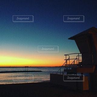ワイキキビーチのサンセット - No.114933