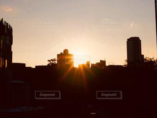 夕暮れ時風景の写真・画像素材[2506479]