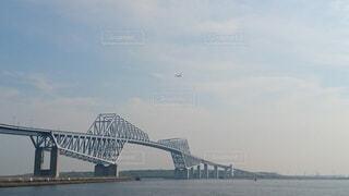東京ゲートウェイと飛行機の写真・画像素材[4089605]