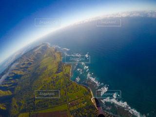 ハワイの上空の写真・画像素材[2508359]