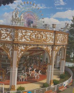 Merry-go-roundの写真・画像素材[2548918]