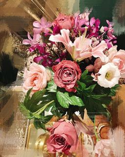 豪華な花束の写真・画像素材[2508548]