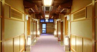 旅館の廊下の写真・画像素材[2510305]
