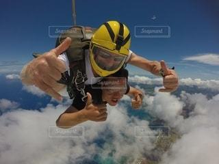 スカイダイビングの写真・画像素材[2510591]