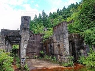 土倉鉱山跡の写真・画像素材[2572588]