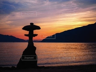 夕日の写真・画像素材[2511160]