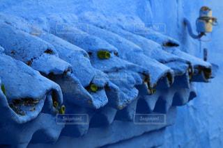 青の街 シャウエンの写真・画像素材[2970733]