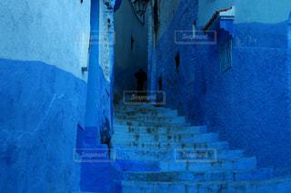 青の街 シャウエンの写真・画像素材[2970723]