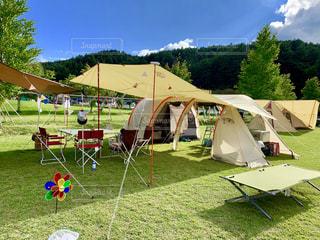 キャンプの写真・画像素材[2585494]