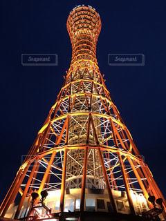 神戸ポートタワーの写真・画像素材[2514811]