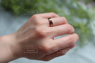 指輪の写真・画像素材[2570767]