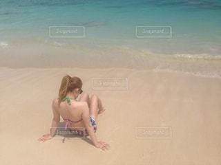 ハワイのビーチの写真・画像素材[2602385]