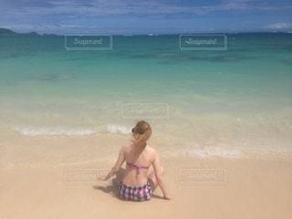 ハワイのビーチの写真・画像素材[2607168]
