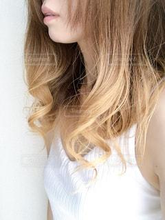 巻き髪の写真・画像素材[2609119]