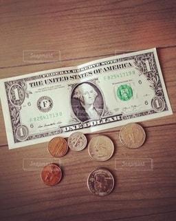 旅行から帰ってきた残りのお金の写真・画像素材[2646840]