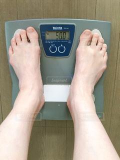 体重計の写真・画像素材[2674272]