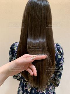 髪の毛の写真・画像素材[2761938]
