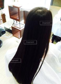 ロングヘアー 黒髪の写真・画像素材[2928950]