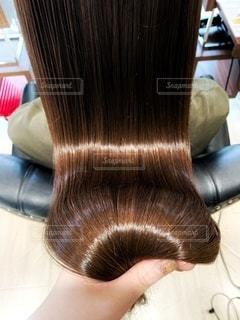 天使の輪 つやつやな髪の毛の写真・画像素材[3350535]