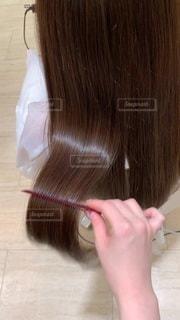 艶髪 サラサラ トリートメントの写真・画像素材[3465951]