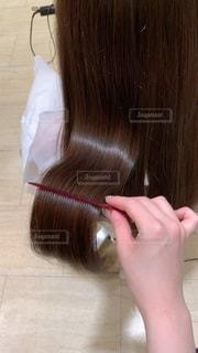 つやのある長い髪の写真・画像素材[3465955]