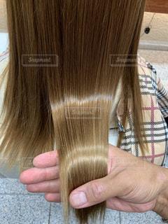 つやつやな髪の毛の写真・画像素材[2537805]