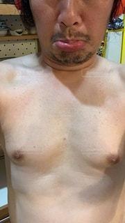 だらしない身体の写真・画像素材[3399598]