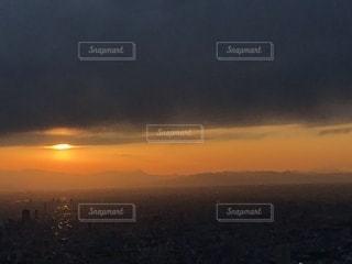 東京の夕日の写真・画像素材[2593671]