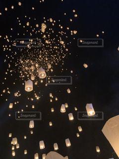 コムローイ祭りの写真・画像素材[2727929]