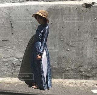 夏とアオザイの写真・画像素材[2992082]
