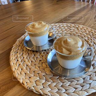 ダルゴナコーヒーの写真・画像素材[3148282]