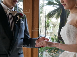 結婚式前撮りの写真・画像素材[2522758]