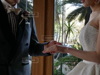 結婚式前撮りの写真・画像素材[2523202]