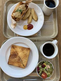 今日の朝食の写真・画像素材[2531503]