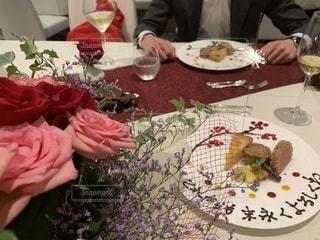 結婚記念日サプライズの写真・画像素材[2535874]