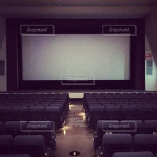 会場直後の映画館の写真・画像素材[1085536]