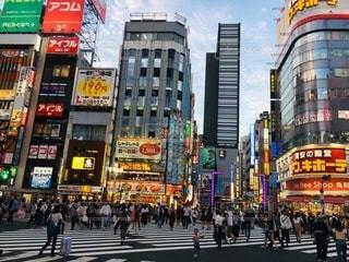 新宿の街並みの写真・画像素材[2581973]