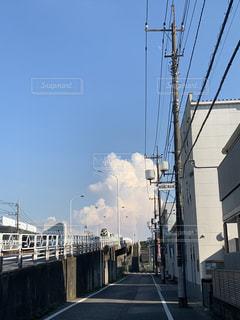 真夏の積乱雲の写真・画像素材[2532280]