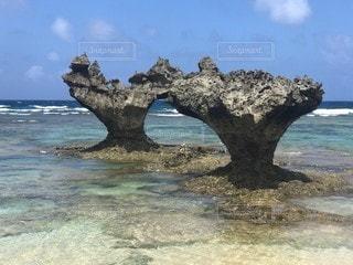 沖縄 ハートロックの写真・画像素材[2518578]