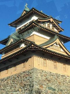 大きな石垣の建物.1の写真・画像素材[1002605]