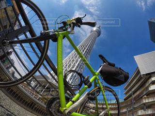 自転車の写真・画像素材[2578490]