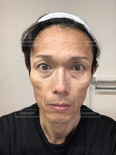 洗顔直後の写真・画像素材[2768024]