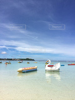 グアムのビーチの写真・画像素材[2555896]