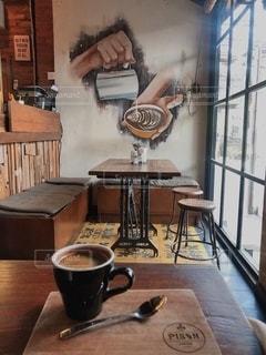 バリ島のカフェにての写真・画像素材[2640988]