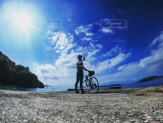 サイクリングの写真・画像素材[2523929]