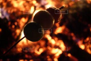 どんど焼きの写真・画像素材[984539]