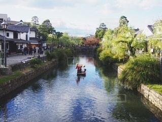 倉敷の舟流しの写真・画像素材[2538986]